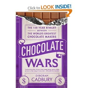 Chocolate Wars: The 150-Year Rivalry Between the World's Greatest Chocolate Makers, Excelente libro sobre religión, política, empresas, y mucho chocolate