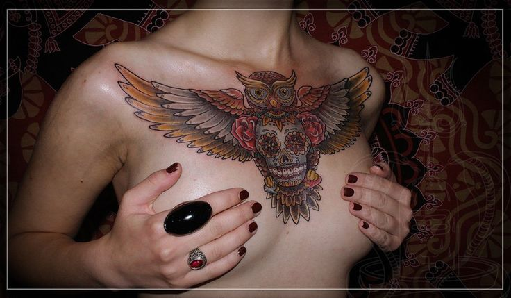 cool tattoo owl...