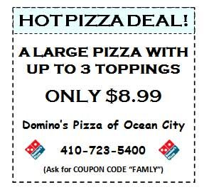 Pizza city coupons
