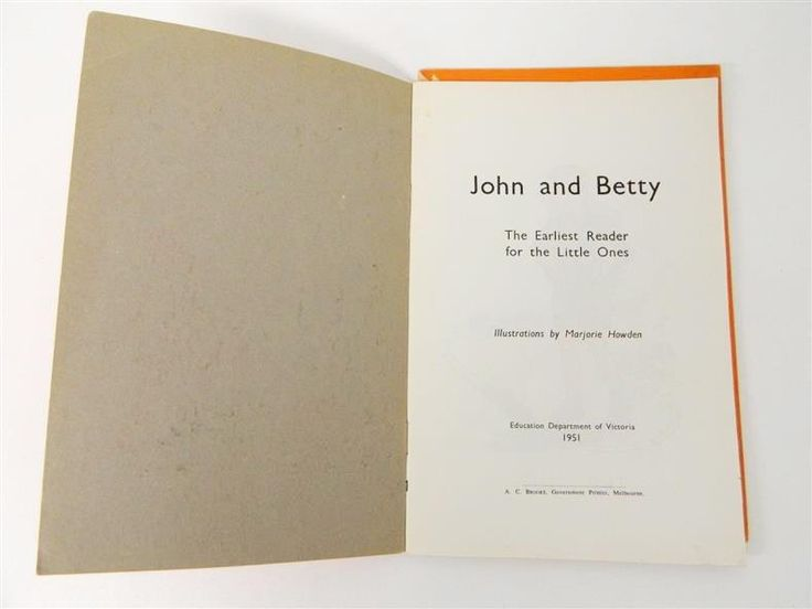 John and Betty - one-size-fits-all first reader for children in the early 50s