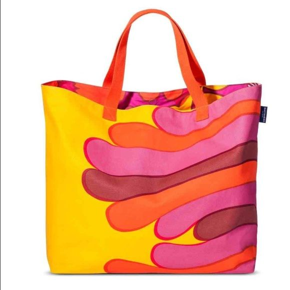 Marimekko for Target Oversized Beach Tote * Marimekko for Target • * Released April 17, 2015 • * SOLD OUT IN STORES AND ONLINE • * IN HAND READY TO SHIP • Marimekko Bags Totes