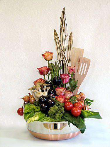 Légumes et fleurs  { Mary Posy aime ! }