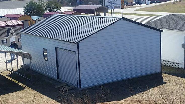 Single Car Carport With Storage Area : Best metal garage images on pinterest garages