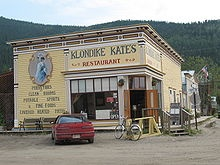Dawson City - Klondike Kate's Restaurant -  We ate here during the Great Northern Road Trip in 2003.