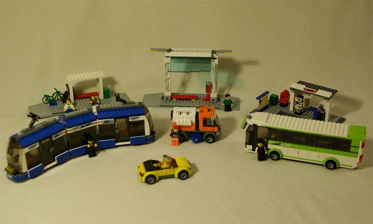 "Lego 8404 ""City"" Public Transportation Center complete with documentation"