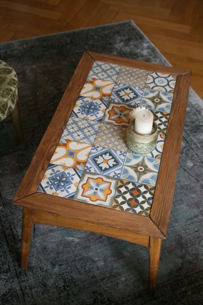 Upcycling: BOHO COUCHTISCH