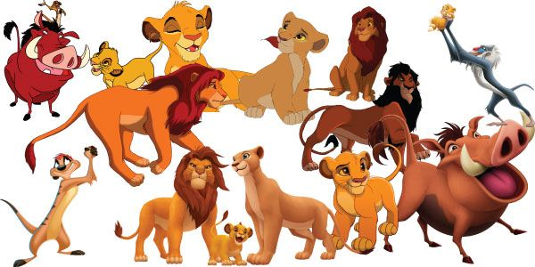 FREE DOWNLOAD! The Lion King Clipart
