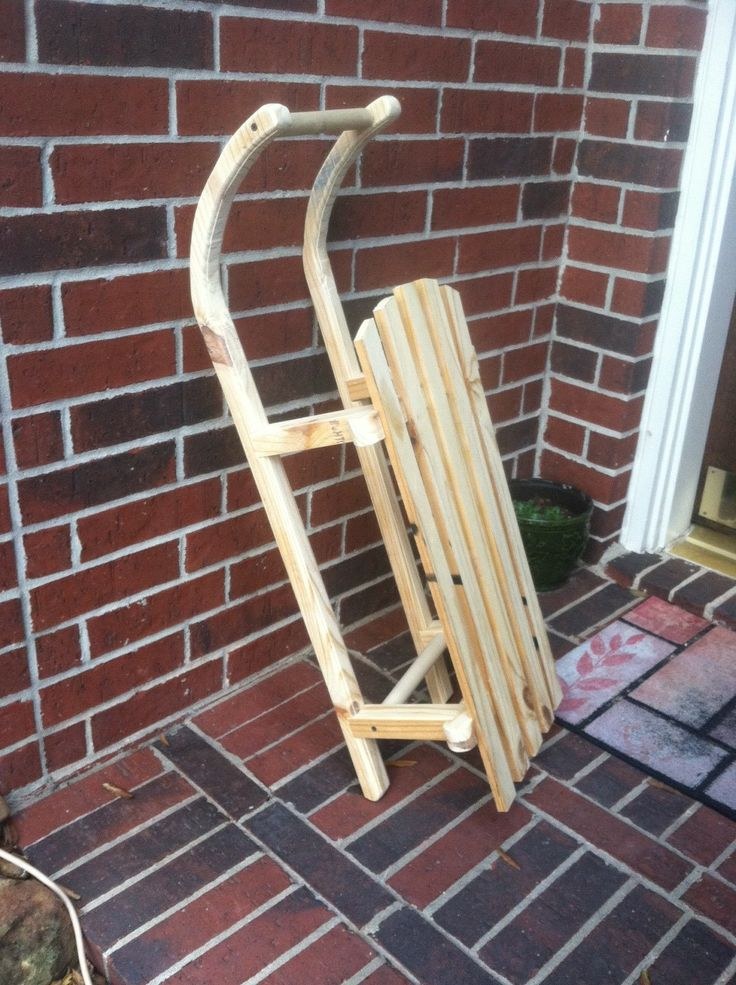 29 Best Images About Homemade Sled Ideas On Pinterest