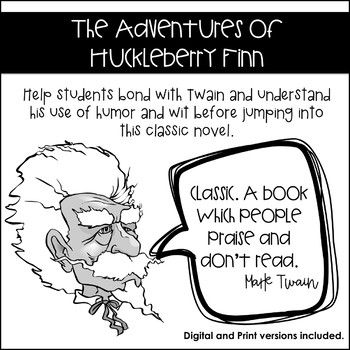the formation and characterization of huck in the adventures of huckleberry finn a novel by mark twa The adventures of huckleberry finn can be used as a refreshing and humorous read, but is also a novel that displays great depth in character and story.