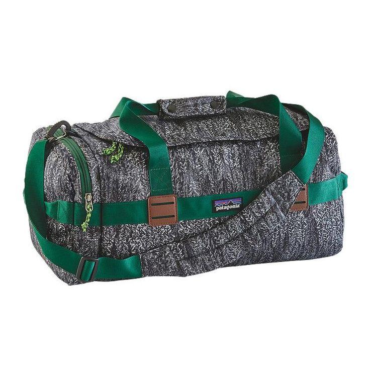 Patagonia Arbor Duffel Bag 30L - Forestland: Black FOBK