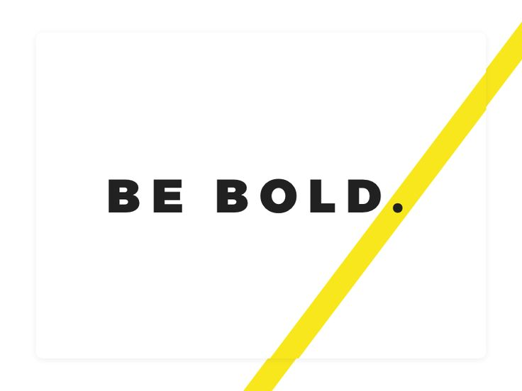 Be Bold.:   This is part of a mini-poster series with abstract backgrounds and snappy words to grab your attention for a client I've been working with recently.    Looking for a Freelance Web Designer & Front-end Developer? Let's work together: iam@adam-marsden.co.uk Portfolio / GitHub / Twitter
