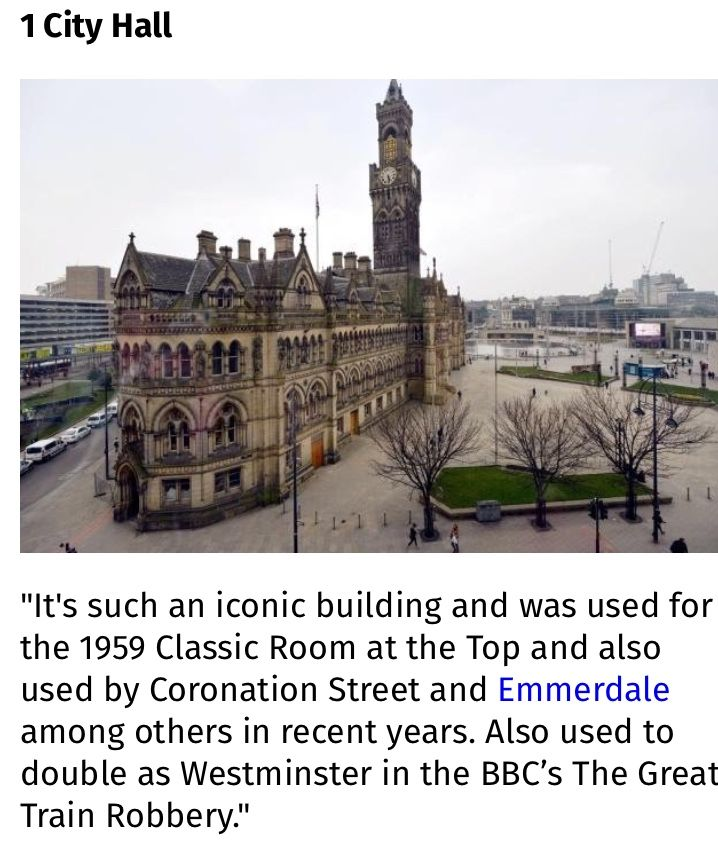Pin By Stephen Hemsworth On Bradford West Yorkshire The Gritty And The Good The Success And The Fails The Great Train Robbery West Yorkshire City Hall
