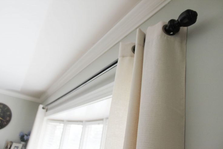 Best 25 Extra Long Curtain Rods Ideas On Pinterest Extra Long Curtains Long Ceiling Lights