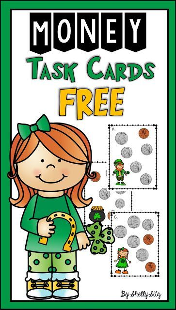 Smiling and Shining in Second Grade: St. Patrick's Day Counting Money Freebie