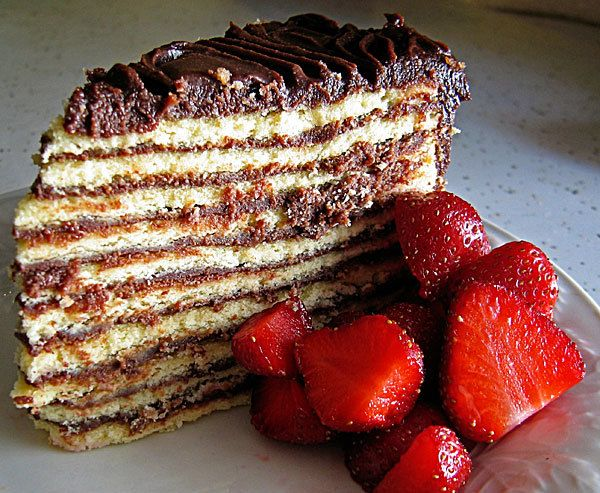 Might have to try this!  Smith Island Cake (a Southern Maryland favorite)