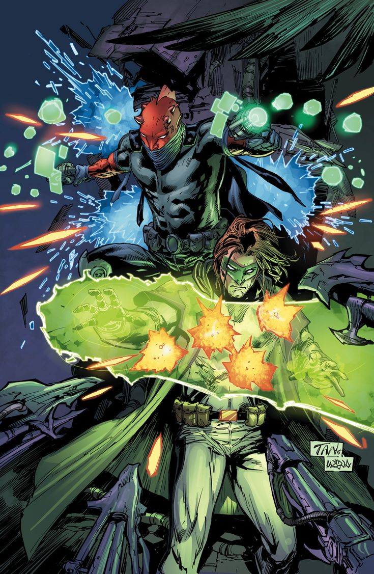 GREEN LANTERN #44 Written by ROBERT VENDITTI Art by BILLY TAN and MARK IRWIN Cover by BILLY TAN