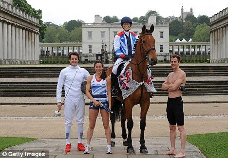 World champion Mhairi Spence will spearhead a four-strong modern pentathlon team as Great Britain look to continue their Olympic medal success at London 2012. Spence will be joined in the women's competition by fellow Olympic debutant Samantha Murray, who won bronze at the Rome world championships in May. Britain have won four medals in female modern pentathlon since the women's event was added to the Olympic programme at the Sydney Games in 2000.