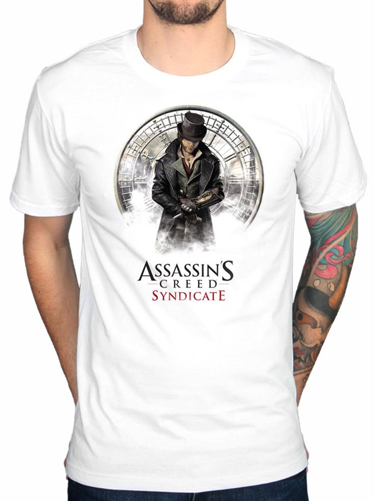 >> Click to Buy << 2017 Cool Men Assassins Creed Syndicate Jacob T Shirt Chronicle Rogue Unity Identity Printed T Shirt Custom Short Sleeve Tees #Affiliate