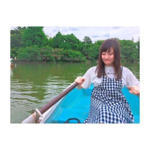 かりんと行ってきた #吉祥寺  #井の頭公園  #彼女とデートなうに使っていいよ  #でも #これは #こがせてる笑... #Team8 #AKB48 #Instagram #InstaUpdate