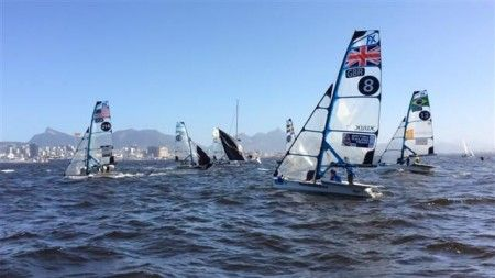 Sailers Test Rio's Waters Ahead of 2016 Olympics