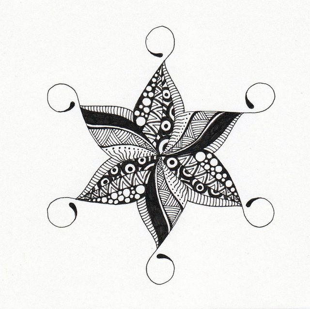 star circles by long village lettering, via Flickr