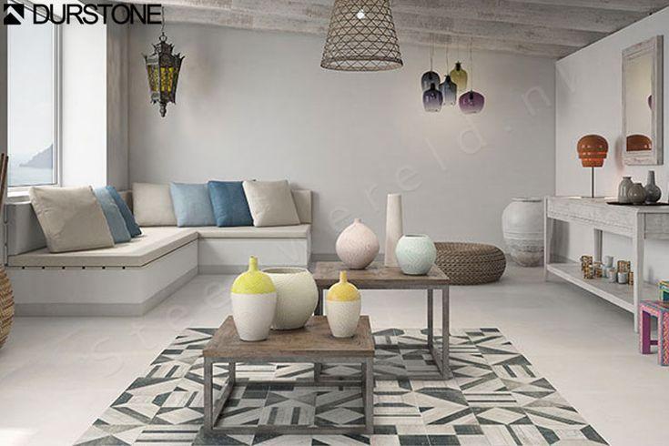 Durstone Villa Ibiza White 60x60