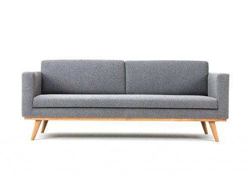 Johan,   3-seater sofa, Andie Light Grey