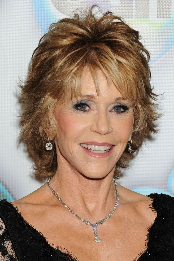 Jane Fonda Short Shaggy Hairstyles – New Short Hair https://www.facebook.com/shorthaircutstyles/posts/1721156141508159