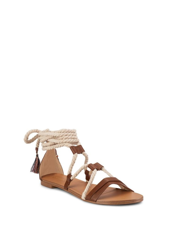 Rope Lace Up Sandals_2