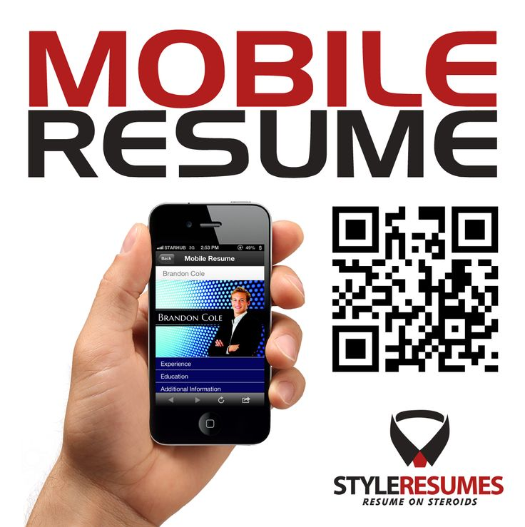 Get a tailored version of yours, only at http\/\/styleresumes - mobile resume