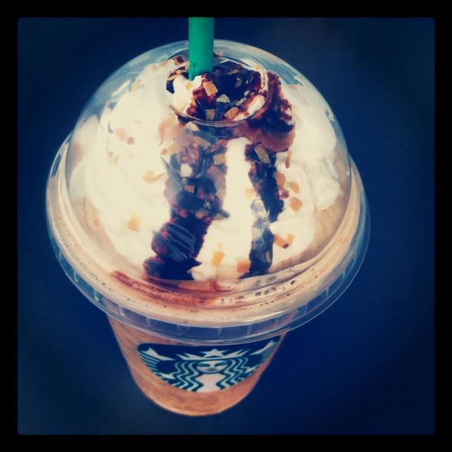 Ordered A Grande Mocha Coconut Frapp From Starbucks :