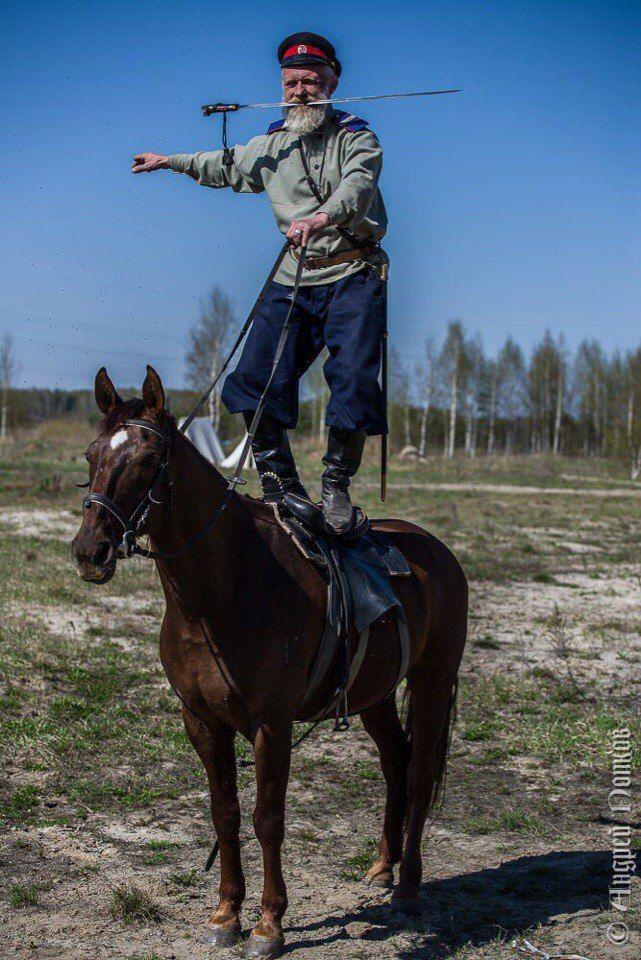 Казачья конная школа- Лагерь Ленок
