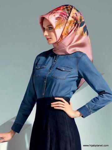 Armine Converse Silk Hijab  - 1