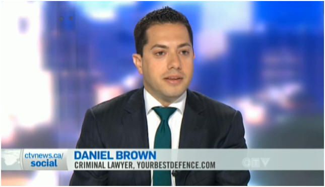 Criminal Lawyer Toronto | Daniel Brown | Media Appearances