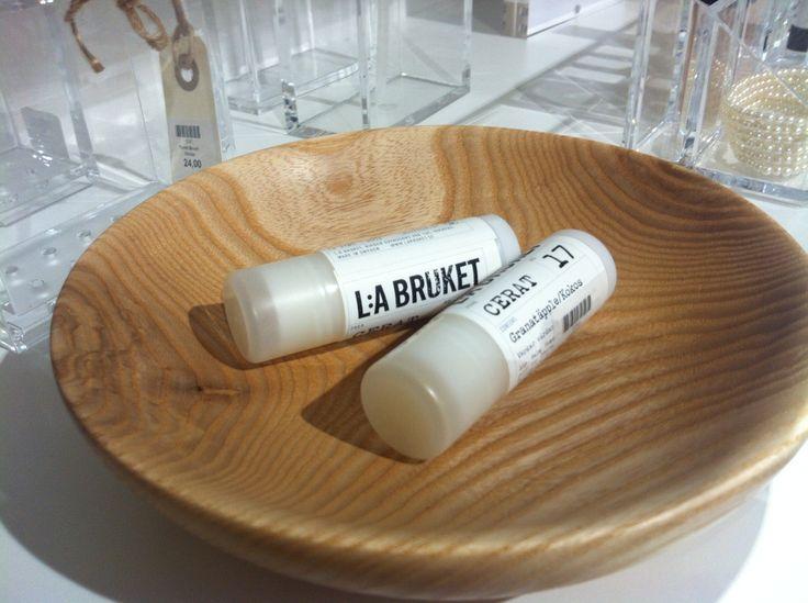 La Bruket lip balm for those windy autumn days.