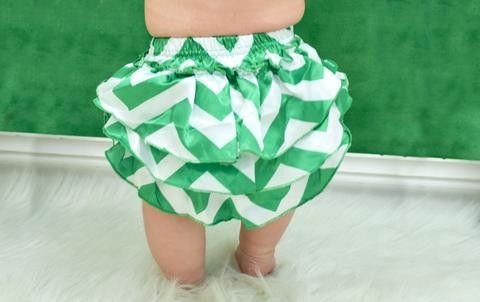 Mediums-Satin Ruffle Bloomer- (2 color/print options)