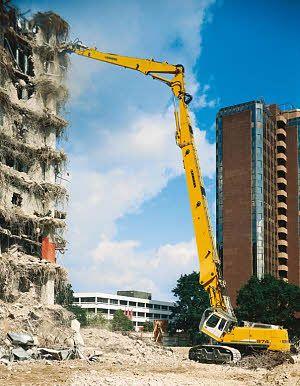 Liebherr Crawler Excavator R 974 C Litronic Demolition