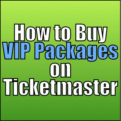 How to Buy VIP Packages on Ticketmaster For Concerts & Shows  #stadiums #concerts #tourguides #events #music