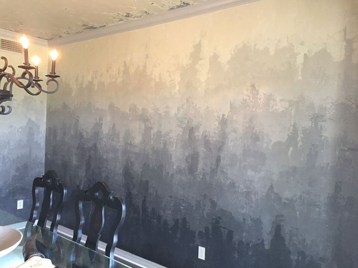 ombre plaster walls more - Wall Plastering Designs