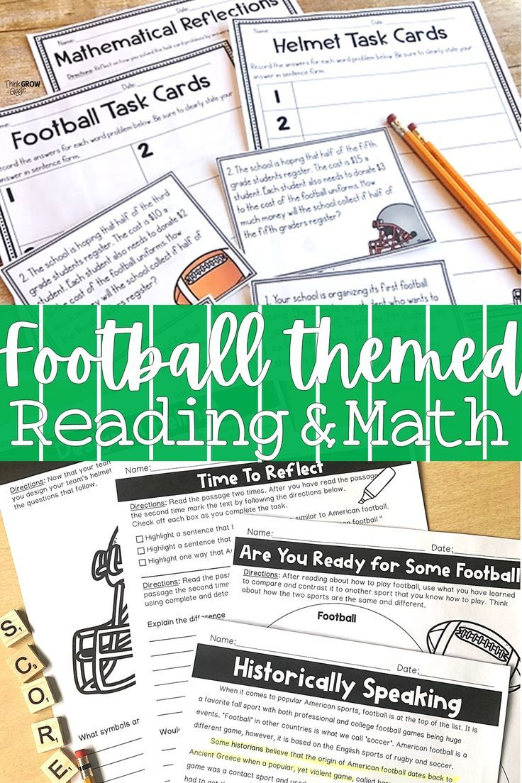 Getting Ready For The Super Bowl In Your Classroom With Your Kids These Football Th Elementary Reading Games Classroom Transformation Upper Elementary Reading [ 1104 x 736 Pixel ]