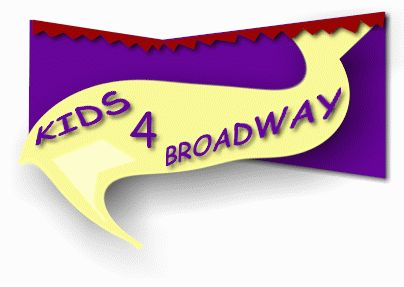 """kids for broadway >>> Activities and GAMES to help kids """"BE in the MOMENT """" once they hit the stage."""