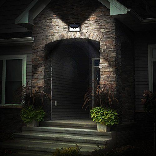 Outdoor Motion Sensor Solar Lights LED Door Waterproof Security Super Bright  #OutdoorMotion