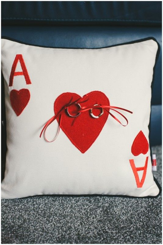 Alice in Wonderland Wedding, use a queen of hearts instead, cause ya know... need a little Gambit in my wedding ;)