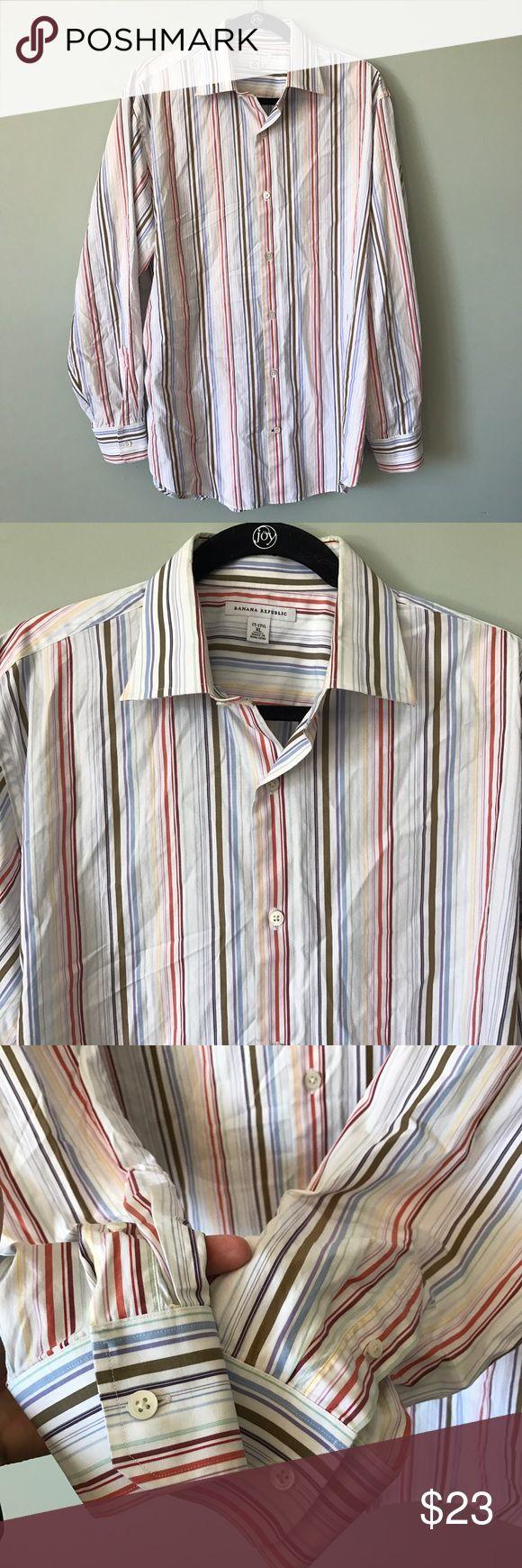 0a089b9cc Banana Republic Button Down Shirt size 17 - 17 1/2