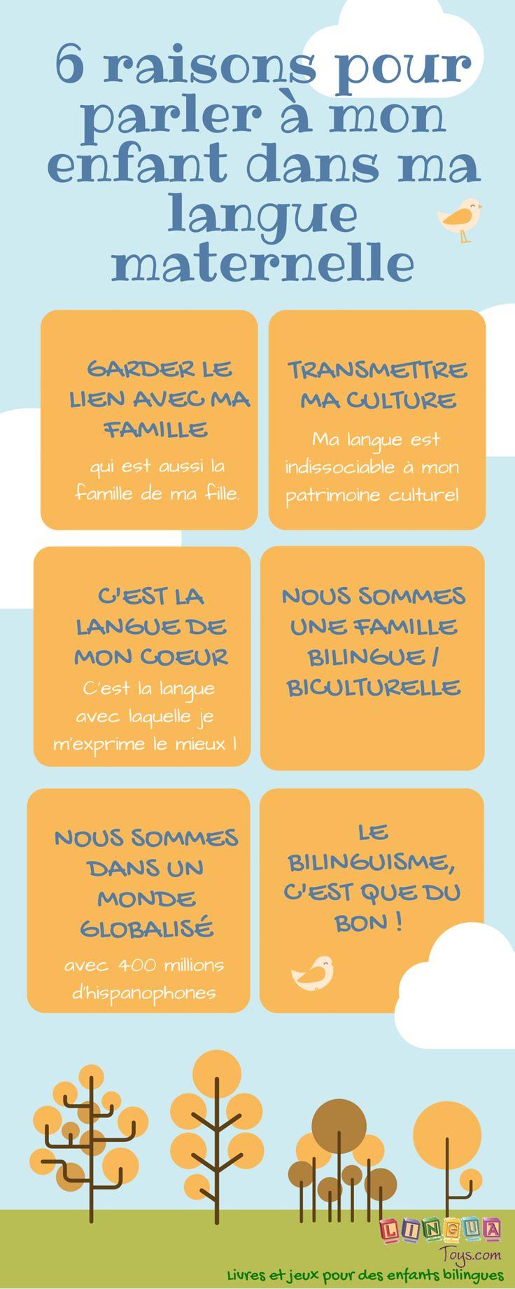 Raisons pour parler sa langue maternelle avec son enfant