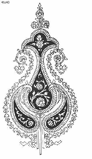 Indian Motifs Textile Pattern, Textile Printing, Indian Motifs Dynamic Textile Patterns, Textile Guide Delhi India