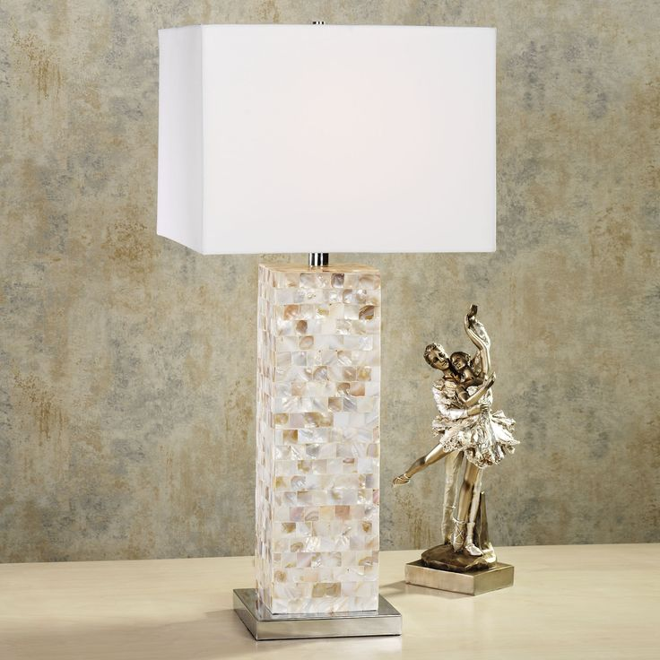 Mother Of Pearl Accent Lamp: 10 Best Mother Of Pearl Table Lamps Images On Pinterest