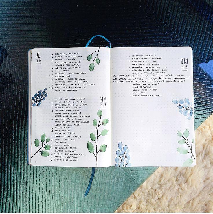 Les Grandes Familles: Mon Bullet Journal minimaliste et coloré