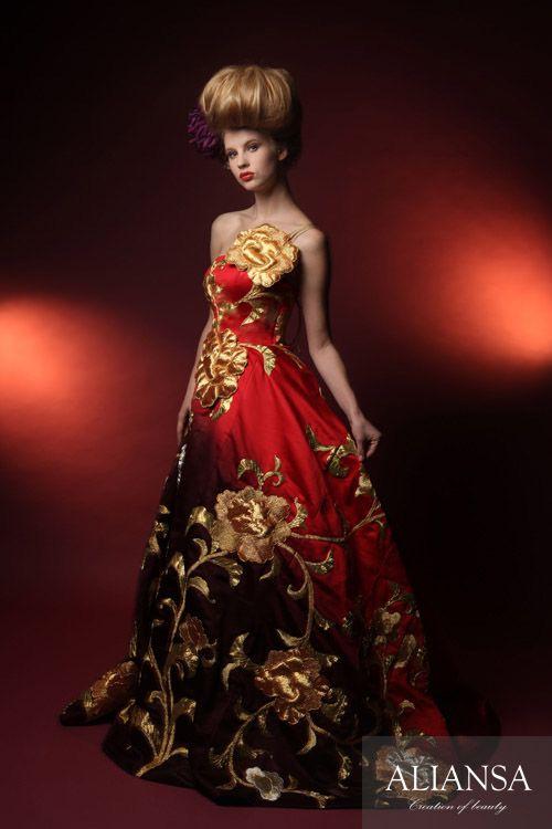 和ドレス 着物ドレス 紅華