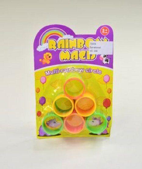 12 Regenbogenspiralen Spirale je 3,5 cm Duchmesser Mitgebsel Kindergeburtstag: Amazon.de: Spielzeug
